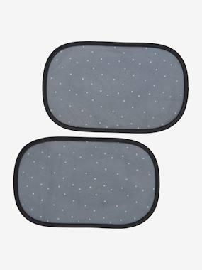 2er-Pack Auto-Sonnenschutz selbstklebend schwarz  von vertbaudet