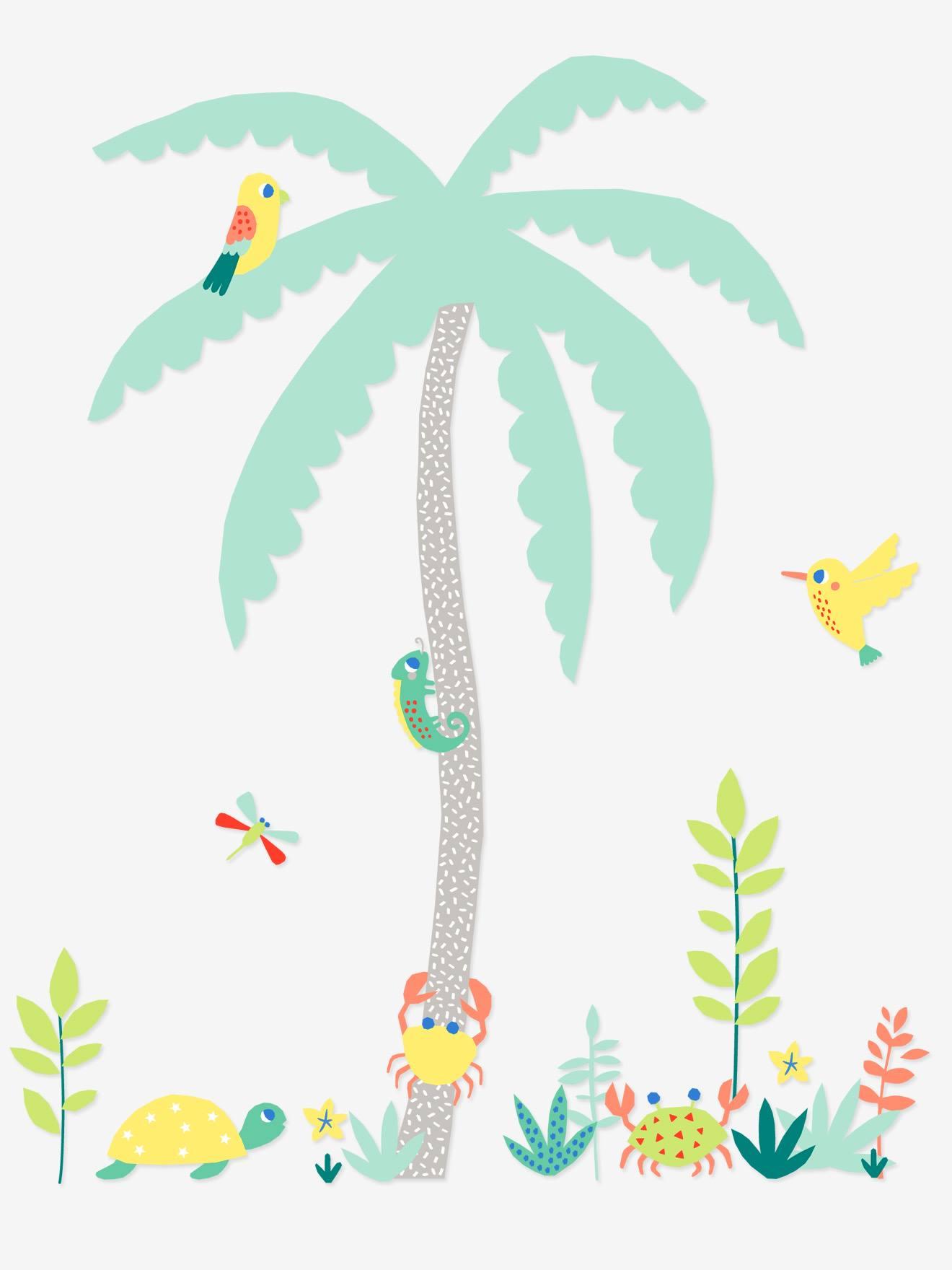 VERTBAUDET Wandsticker für Kinderzimmer mehrfarbig