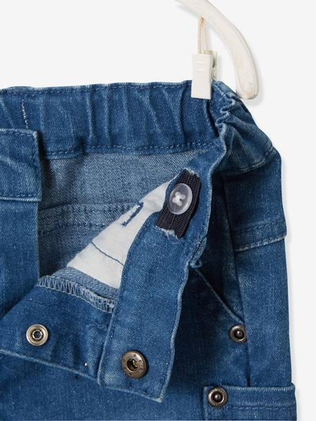 Slim-Fit-Jeans, Destroyed-Look - blue stone - 3