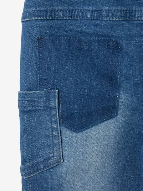 Slim-Fit-Jeans, Destroyed-Look - blue stone - 6