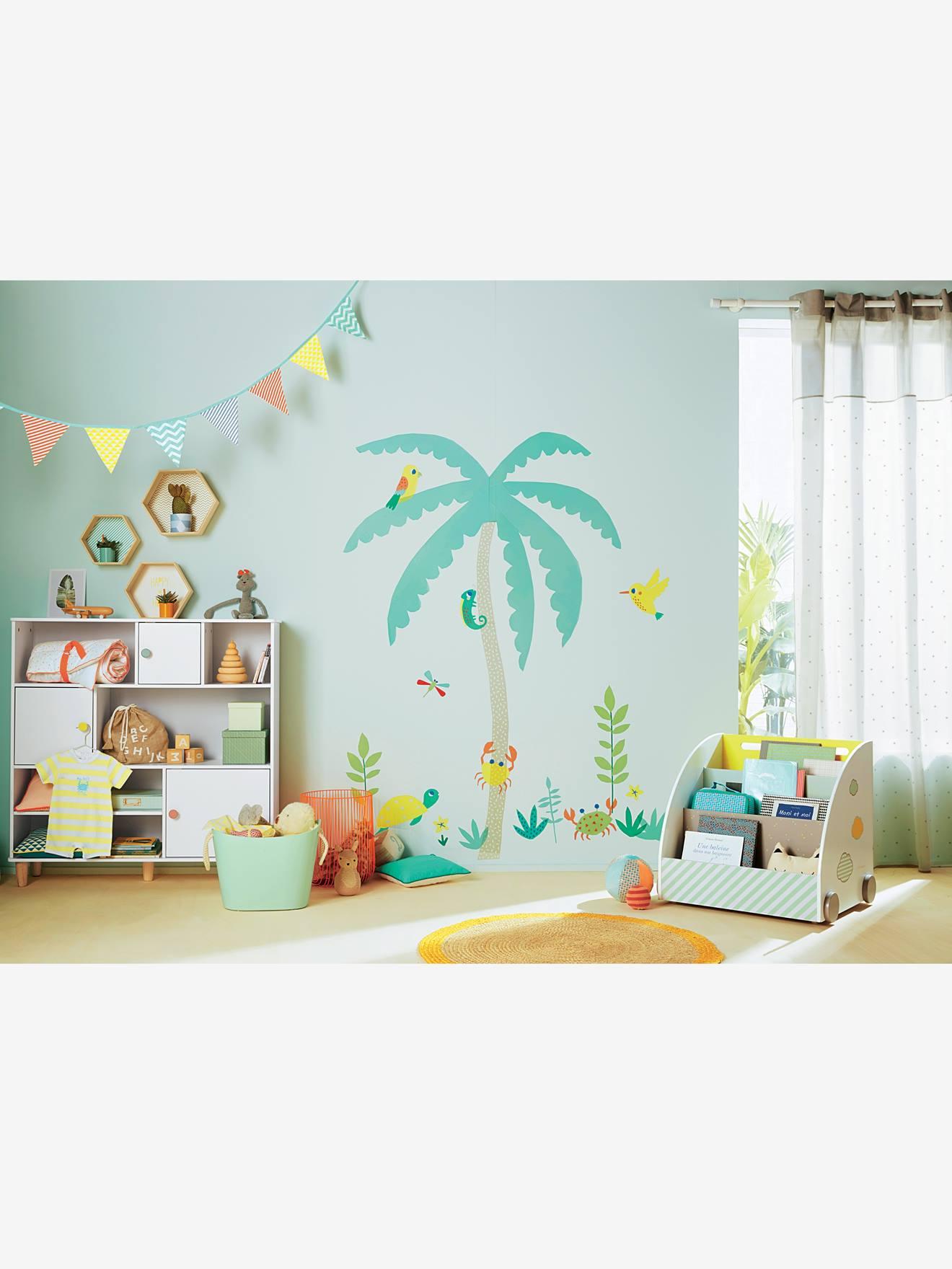 Vertbaudet Wimpel-Girlande für Kinderzimmer in mehrfarbig