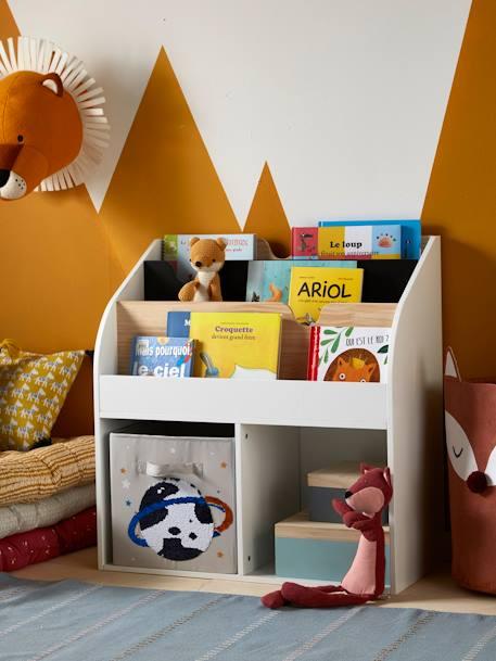 WERBUNG – Bücherregal mit 2 Fächern aus der School Serie von Vertbaudet