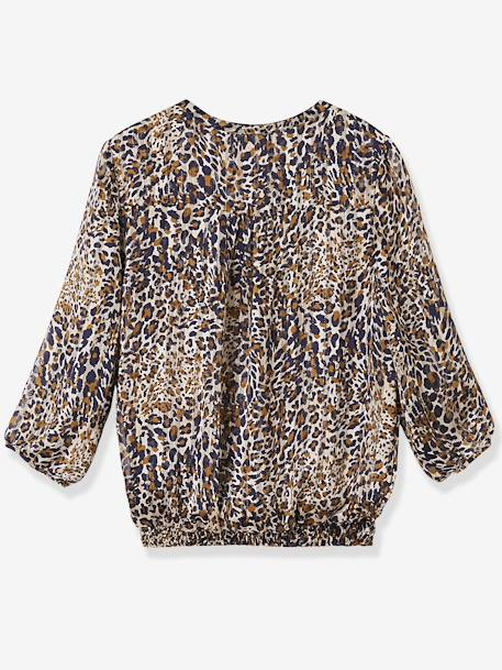 Umstandsbluse mit Leopardenmuster - leoprint - 2