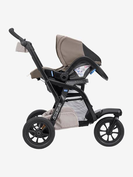 Kombi-Buggy ,,Trio Activ3 Top' CHICCO - dove grey+iron - 7
