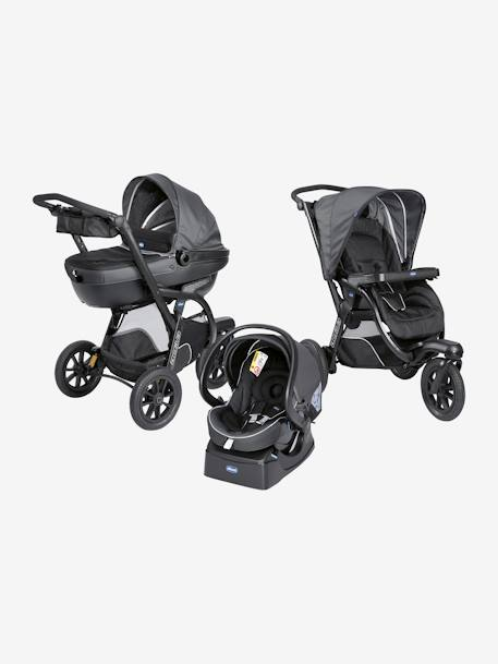 Kombi-Buggy ,,Trio Activ3 Top' CHICCO - dove grey+iron - 9
