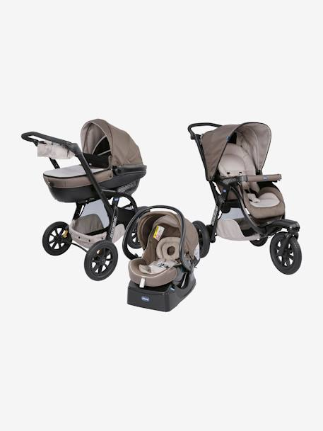 Kombi-Buggy ,,Trio Activ3 Top' CHICCO - dove grey+iron - 1