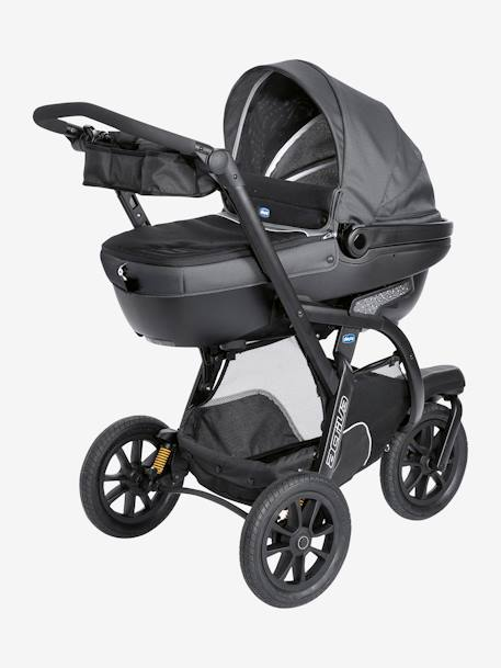 Kombi-Buggy ,,Trio Activ3 Top' CHICCO - dove grey+iron - 15