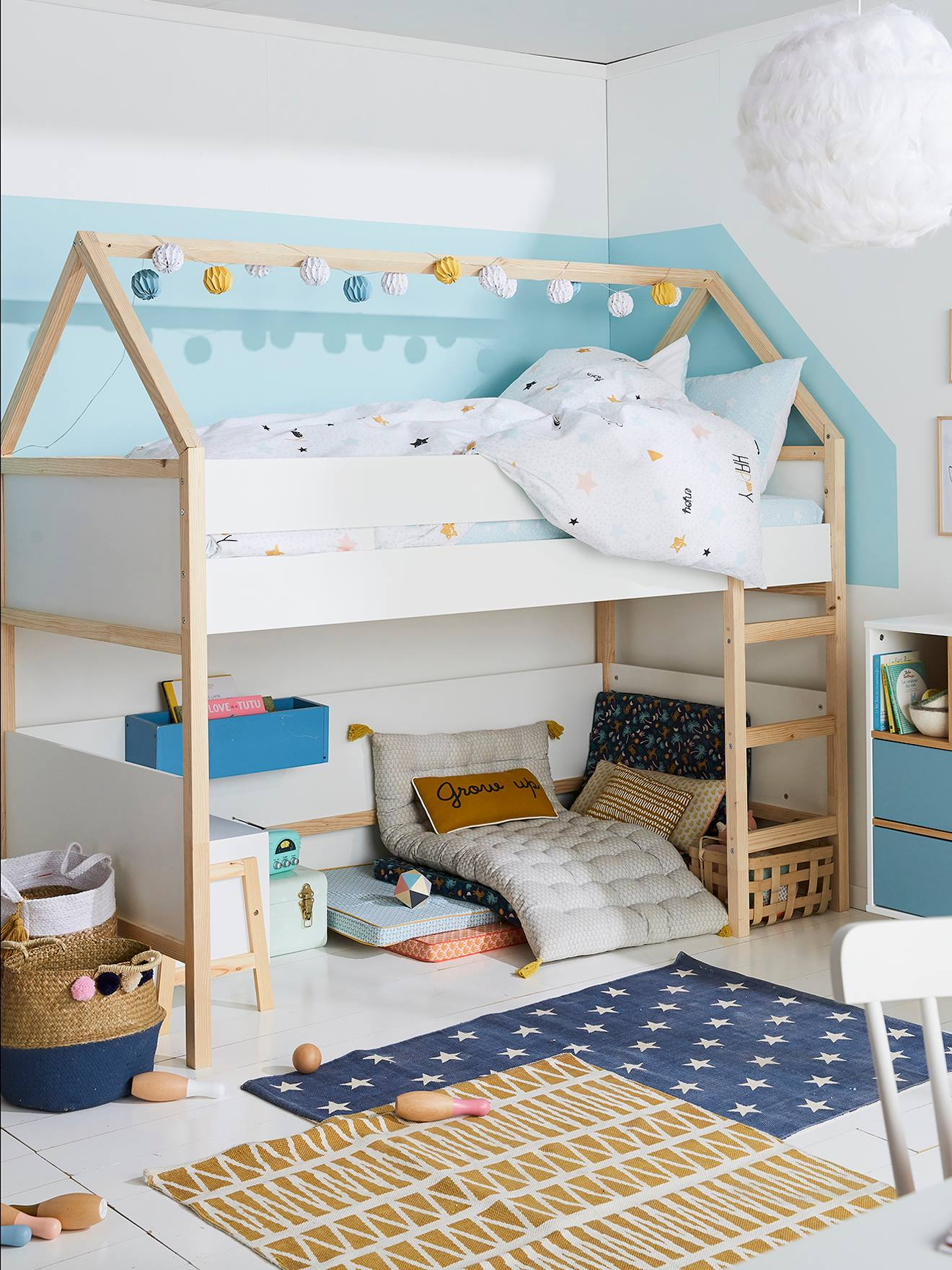 Nach Oben Parisot Hochbett Bild Von Wohndesign Stil