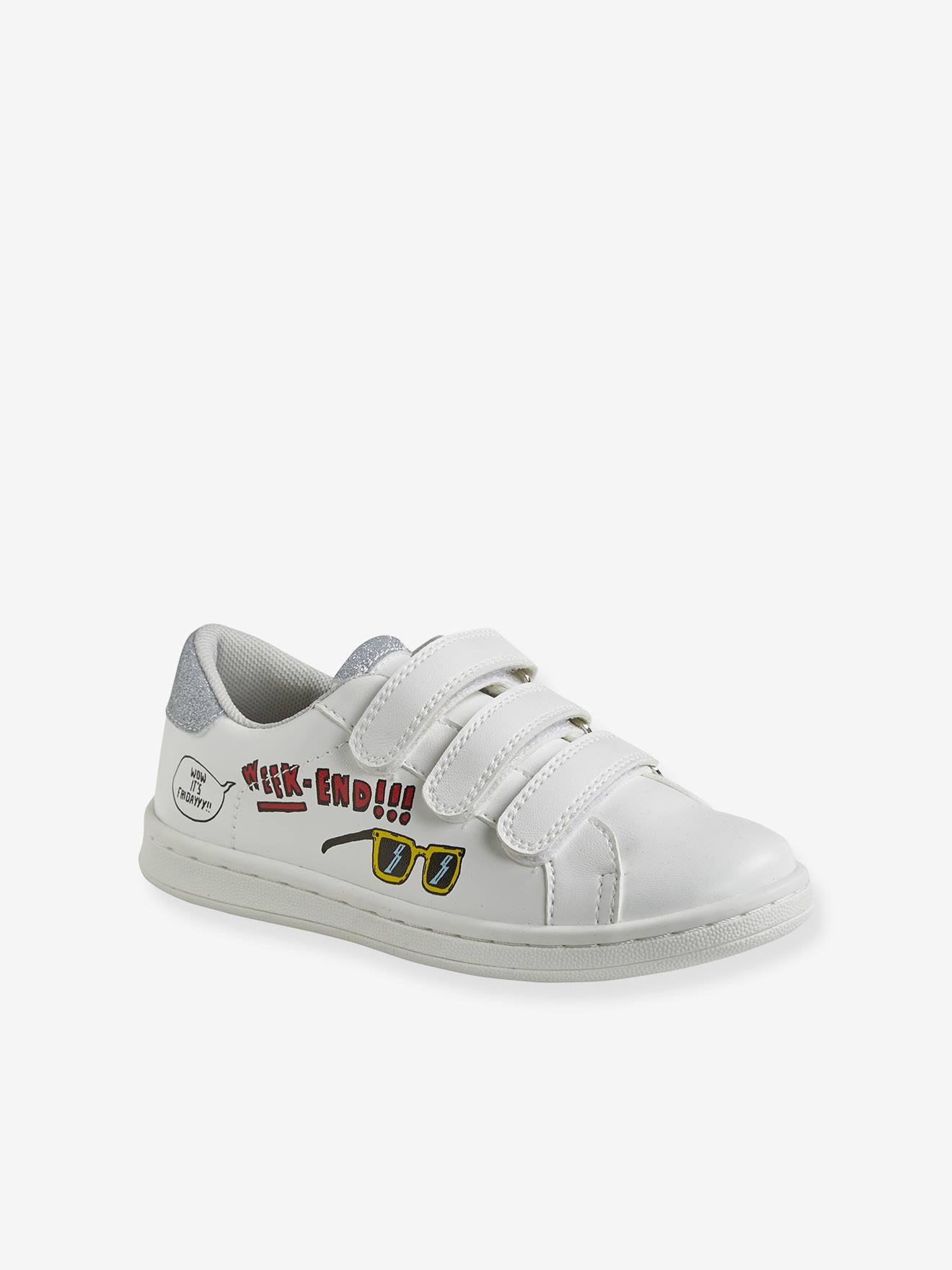 Mädchen Mit Klettverschluss Sneakers Sneakers Mit Weiß Klettverschluss Mädchen Weiß 1cJFlK3T