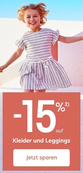 -15% auf Kleider un Leggings