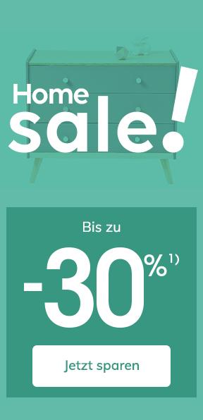 Home Sale! Bis zu -30%