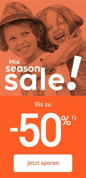Mid Season Sale - Bis zu -50%