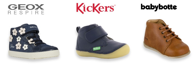 Geox, Kickers, Babybotte