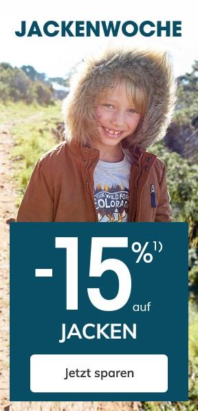 -15% auf Jacken
