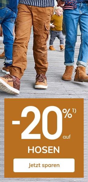 -20% auf Hosen