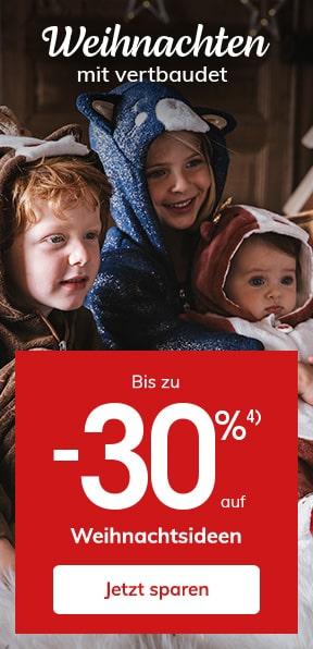 Bis zu -30% auf Weihnachtsideen