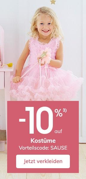 -10% auf Kostüme
